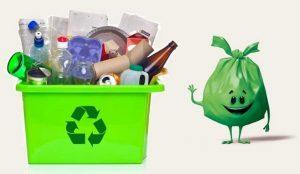 زباله خشک